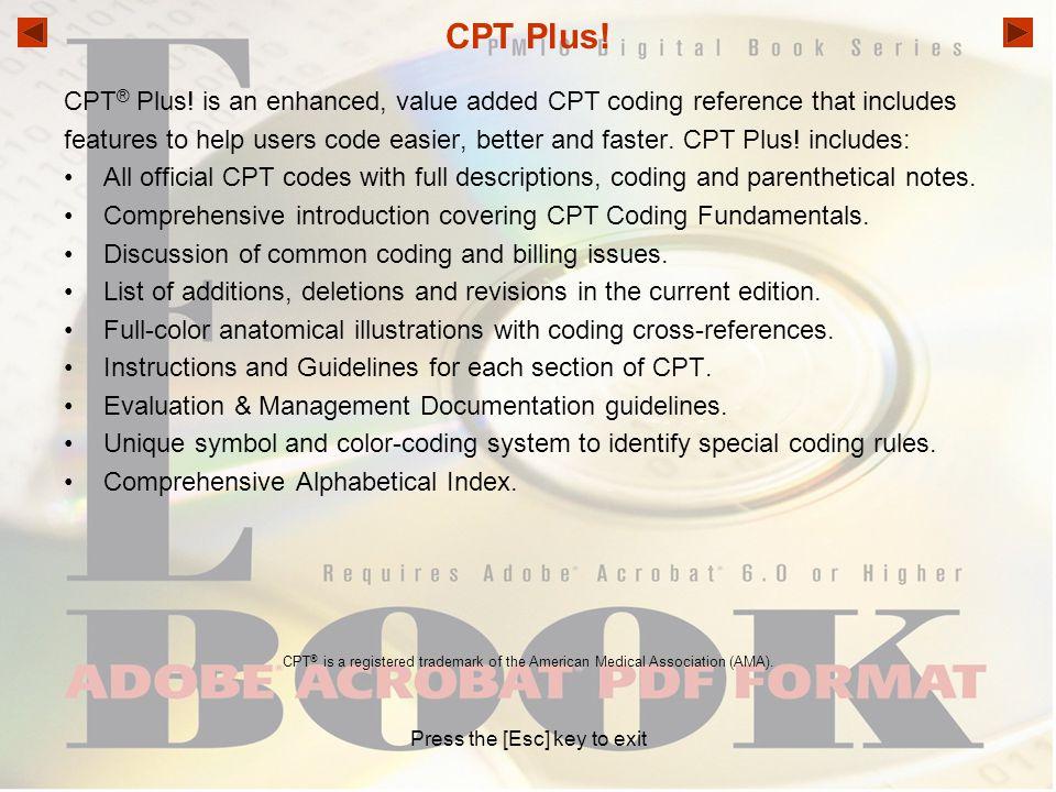 CPT Plus.CPT ® Plus.