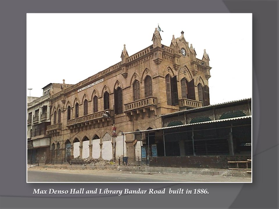 Max Denso Hall and Library Bandar Road built in 1886.