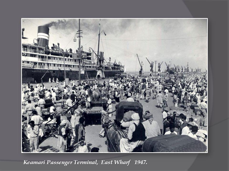 Keamari Passenger Terminal, East Wharf 1947.