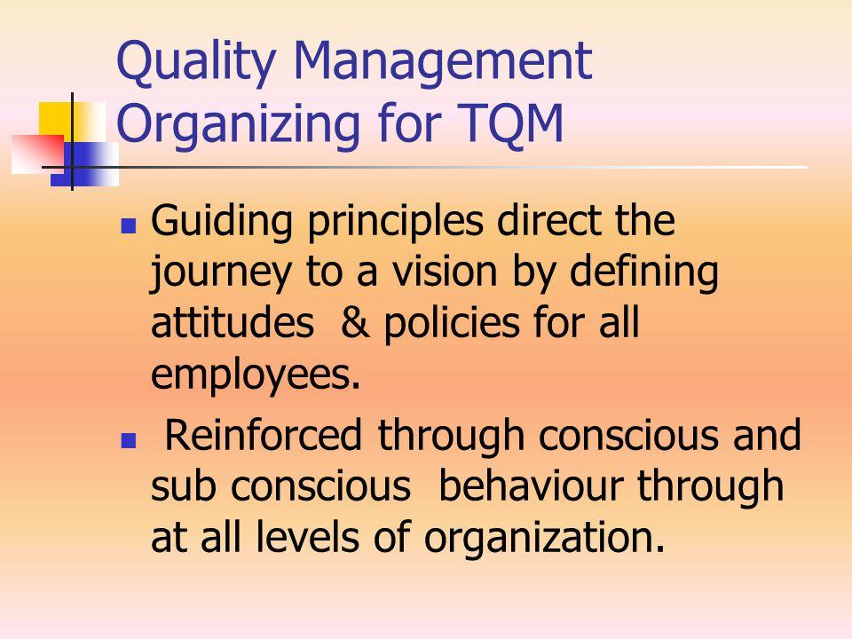 Quality Management Training TQM Roles- Work force.