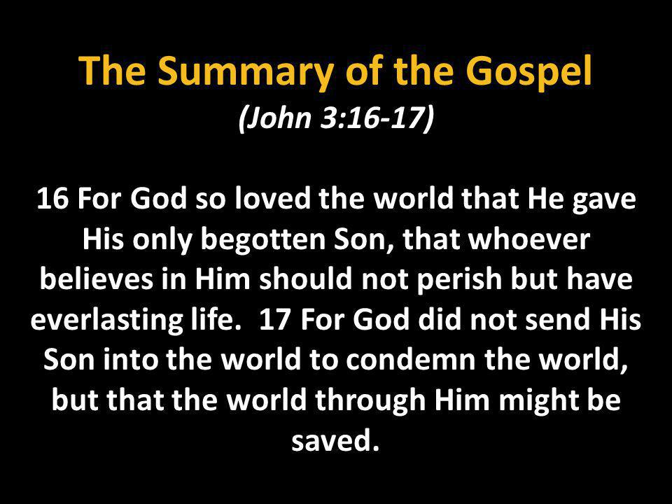 The Love of God is ONLY in Christ (Romans 8:35-39) 38 For I am persuaded, that neither death, nor life, nor angels, nor principalities, nor powers, nor things present, nor things to come, 39 Nor height, nor depth, nor any other creature, shall be able to separate us from the love of God, which is IN Christ Jesus our Lord.