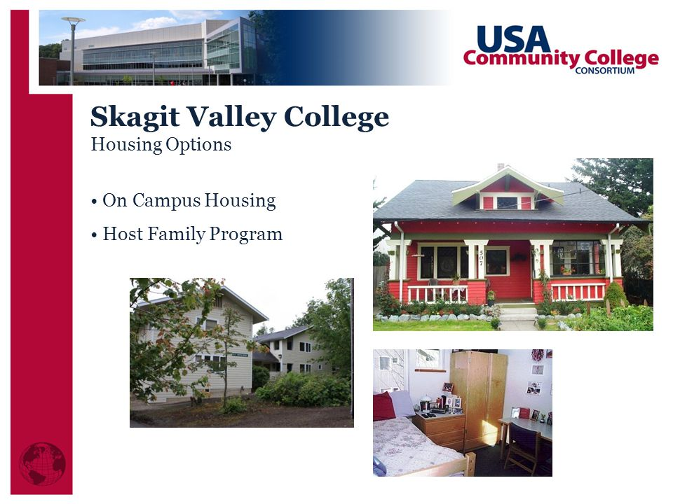Skagit Valley College Housing Options On Campus Housing Host Family Program