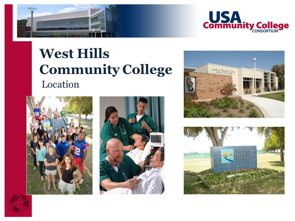West Hills Community College Location