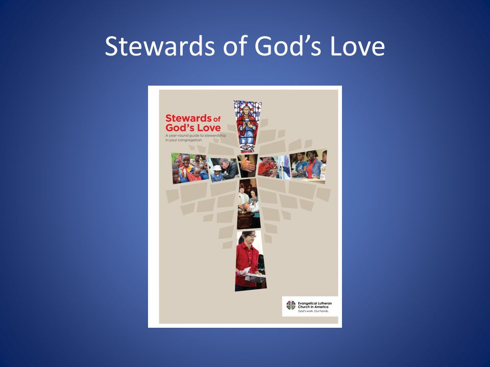 Stewards of God's Love