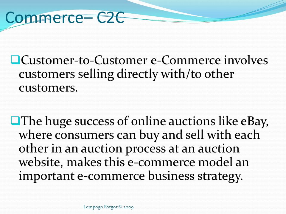 What is M-Commerce.