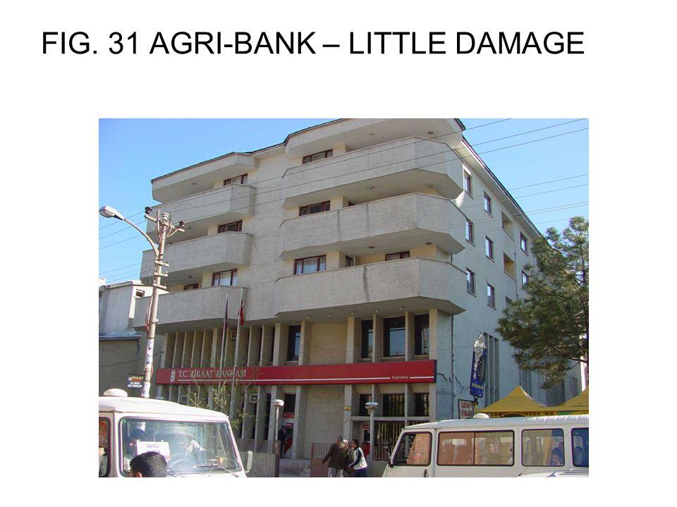 FIG. 31 AGRI-BANK – LITTLE DAMAGE
