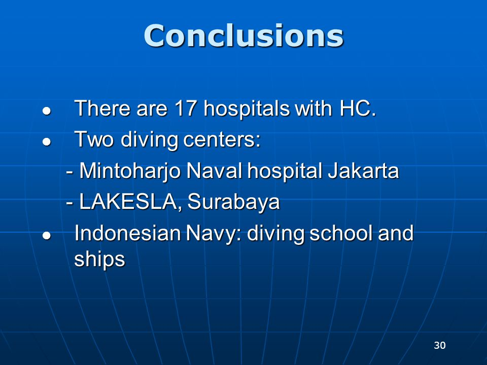30 There are 17 hospitals with HC. There are 17 hospitals with HC.
