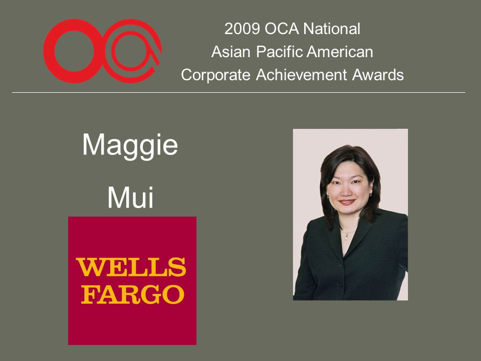 2009 OCA National Asian Pacific American Corporate Achievement Awards Maggie Mui