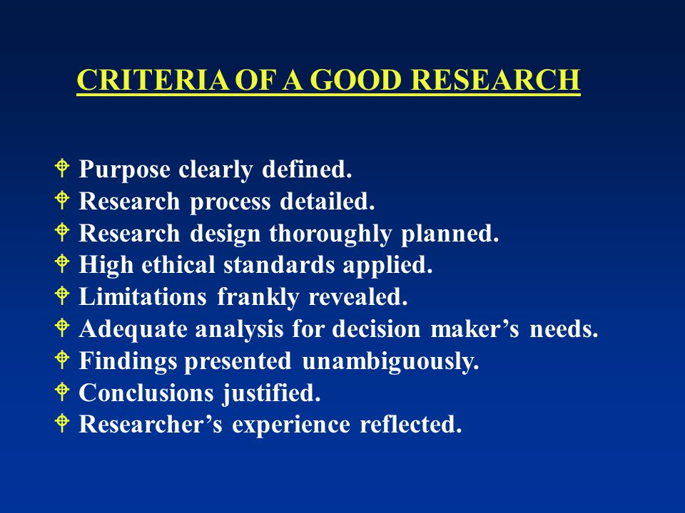  Purpose clearly defined. Research process detailed.