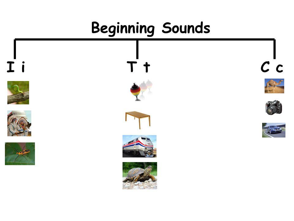 I iT tC c Beginning Sounds