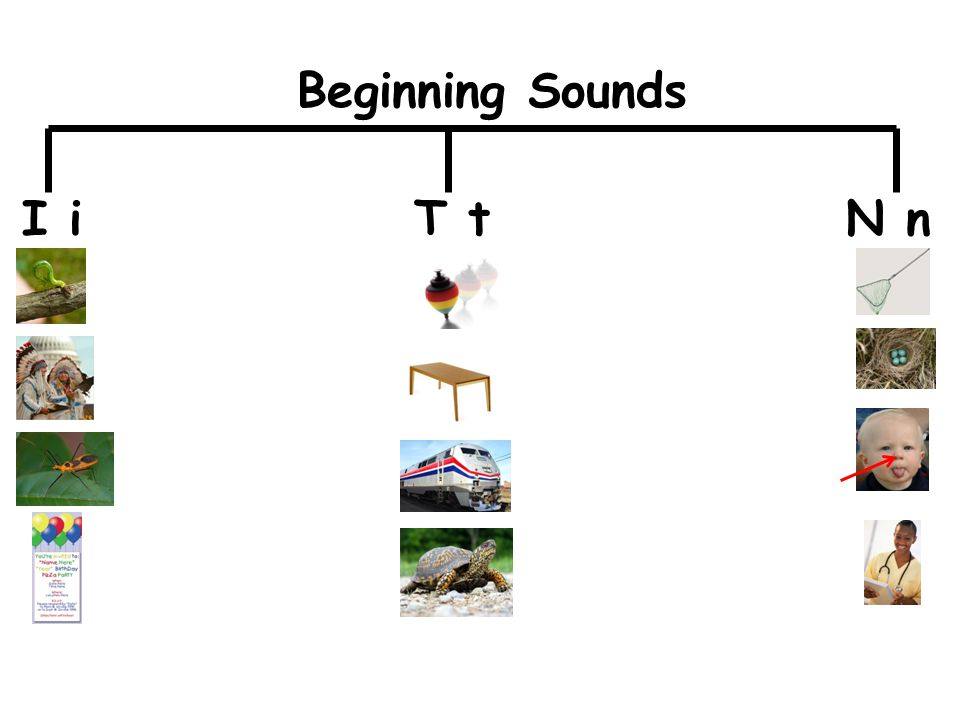 I iT tN n Beginning Sounds