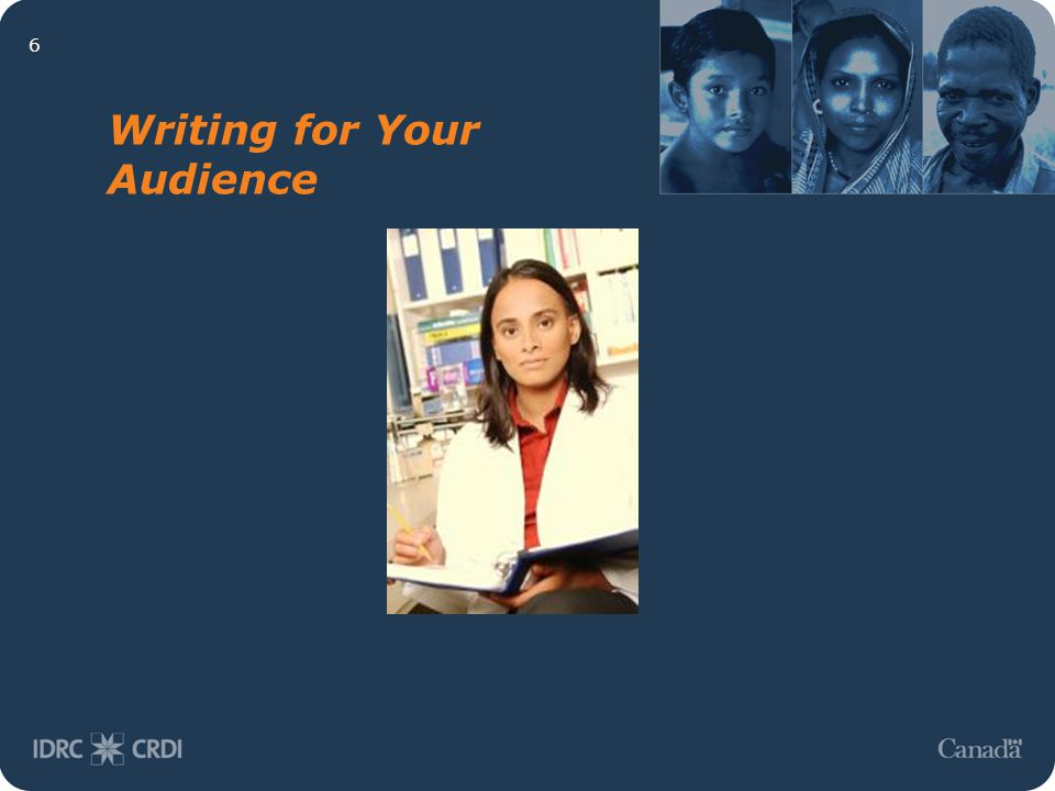 6 Writing for Your Audience