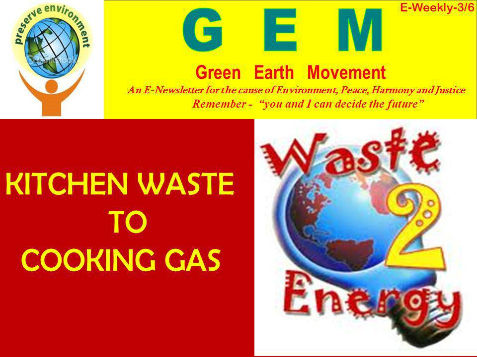 Every year, about 55 million tonnes of municipal solid waste (MSW) and 38 billion liters of sewage are generated in the urban areas of India.