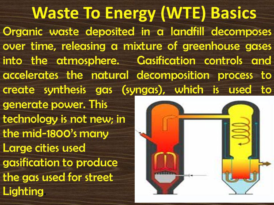 Technologies for the Generation of Energy from Waste Biogas is produced when organic matter is broken down by microorganisms in the absence of oxygen, called anaerobic digestion.