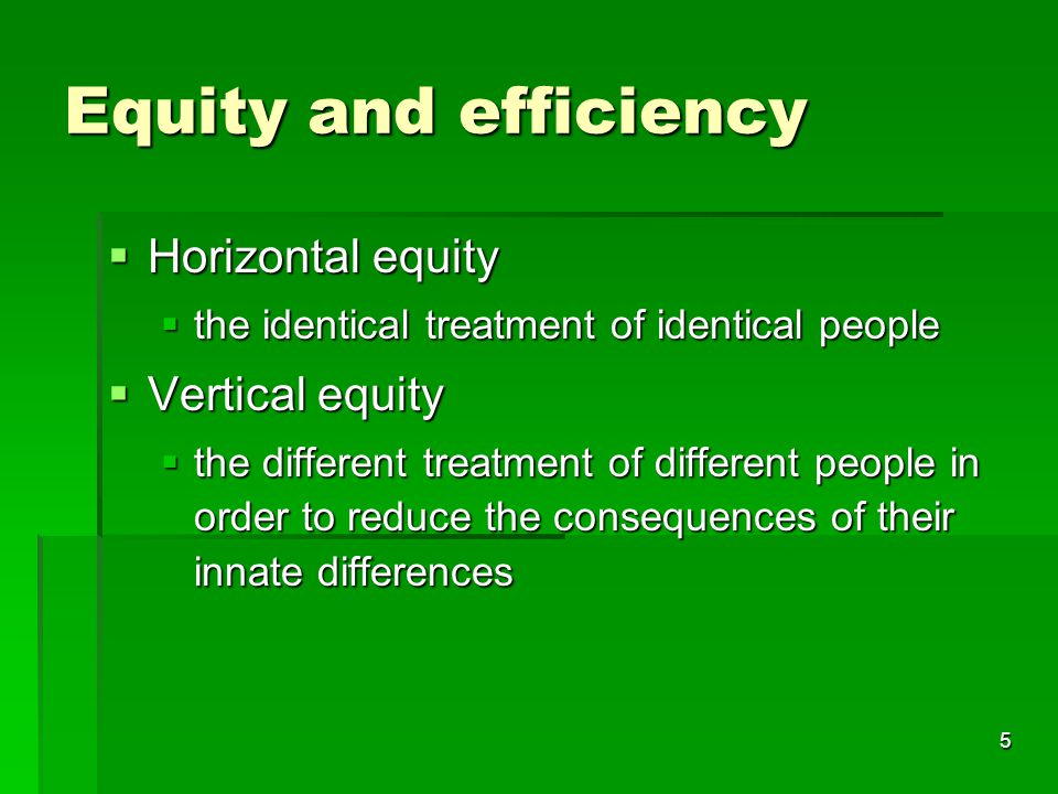 6 Pareto efficiency  An allocation is Pareto-efficient for a given set of consumer tastes, resources and technology, if it is impossible to move to another allocation which would make some people better off and nobody worse off.