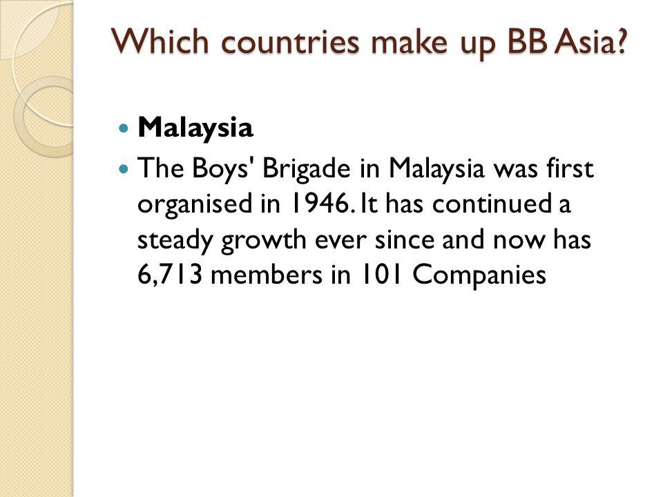 Hong Kong The Boys Brigade, Hong Kong (Chinese: 香港基 督少年軍 Short-form: BBHK) BBHK a branch of the Boys Brigade.