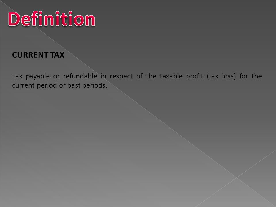SameDiscounting of deferred tax is explicitly prohibited.