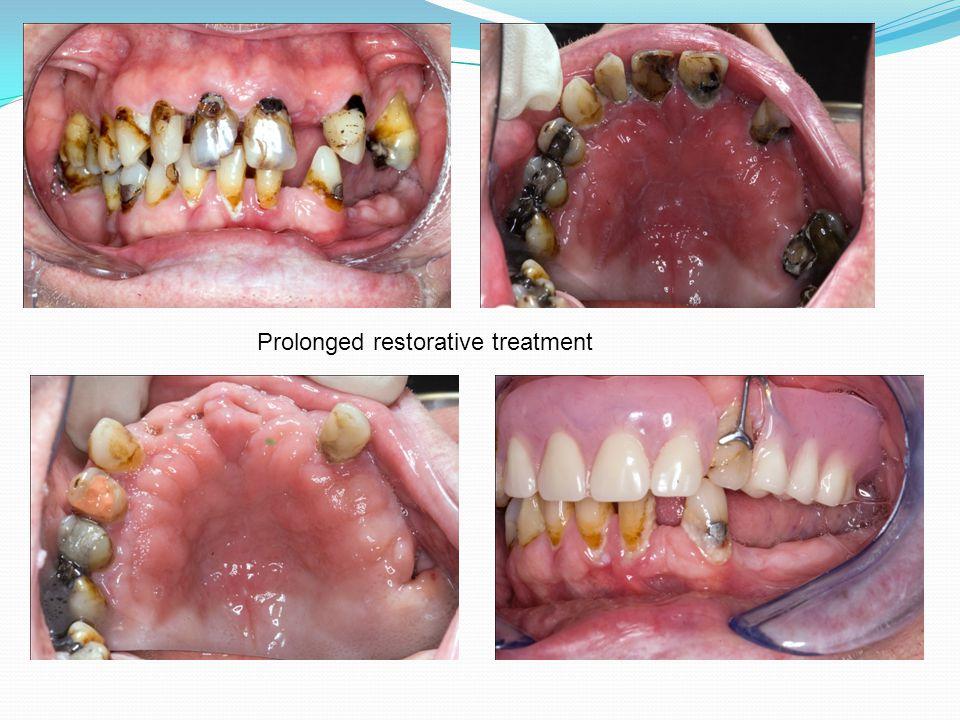 Prolonged restorative treatment