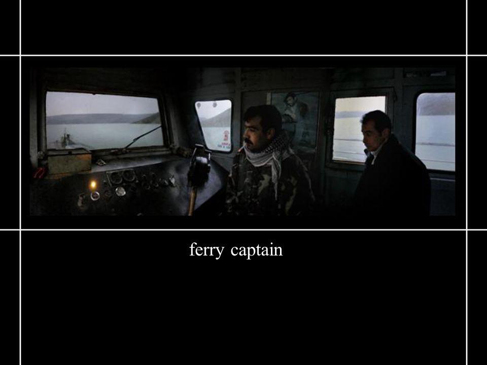 ferry captain
