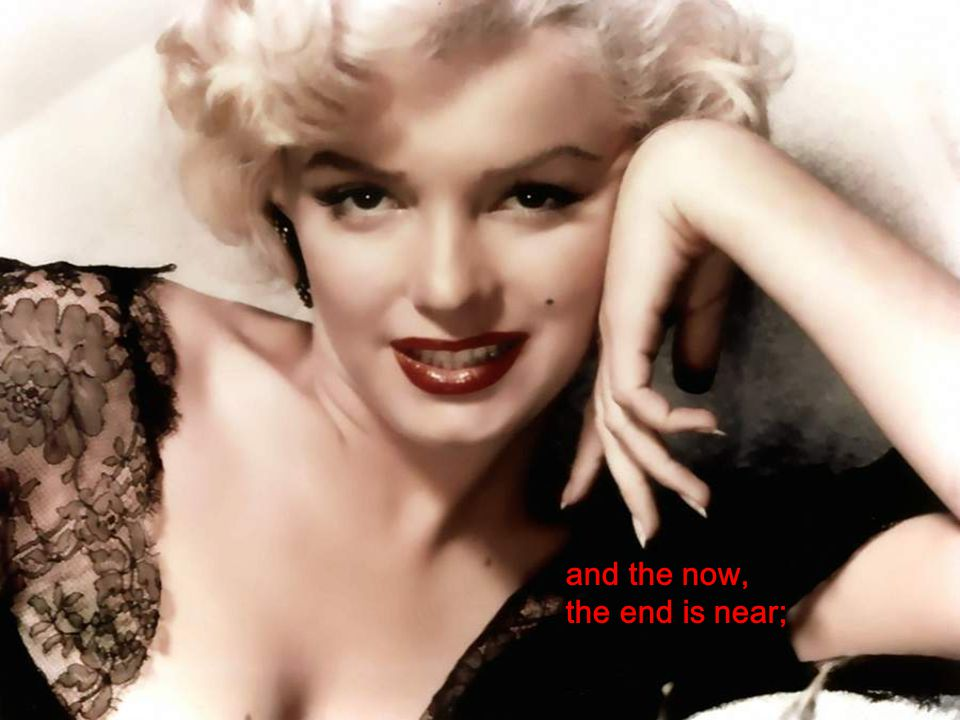 MARILYN MONROE My way Frank Sinatra NO MOUSE is advised