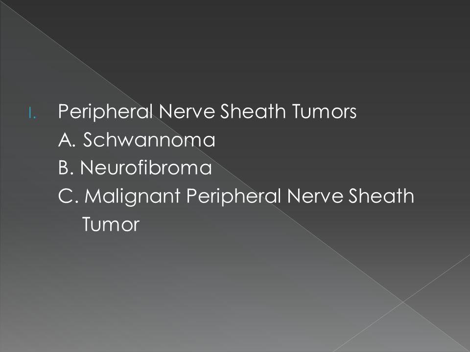 I.Peripheral Nerve Sheath Tumors A. Schwannoma B.