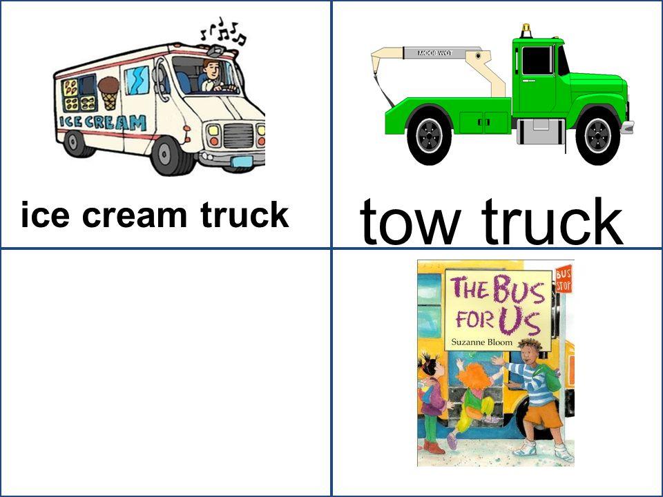 tow truck ice cream truck