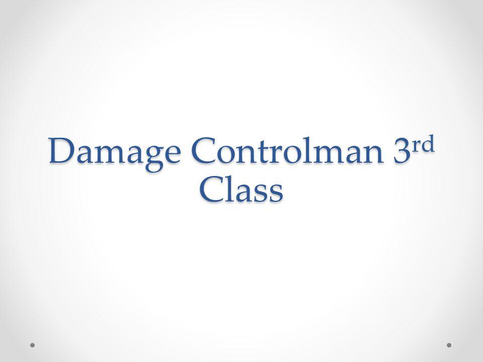 Damage Controlman 3 rd Class