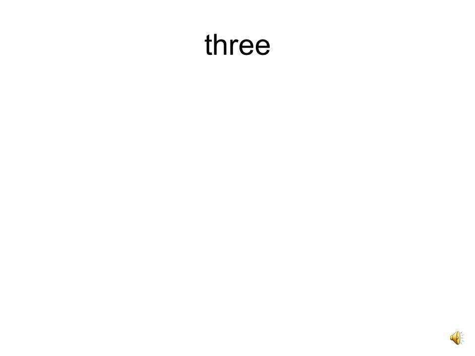tres, tria