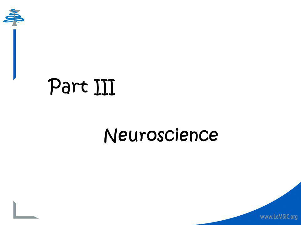 Part III Neuroscience
