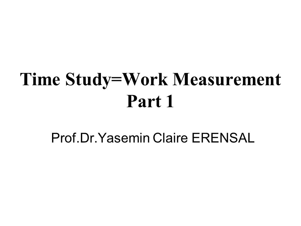 Are based on the data collected through work measurement processes.