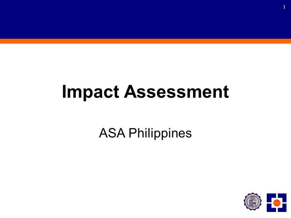 1 Impact Assessment ASA Philippines