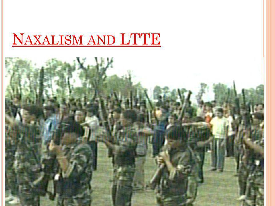 N AXALISM AND LTTE