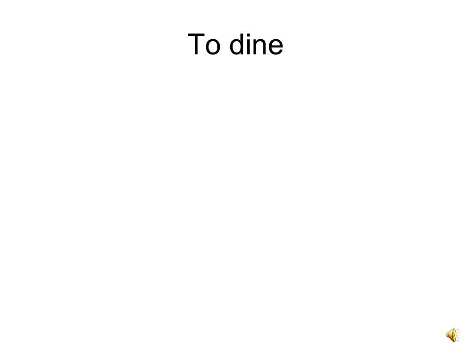 Ceno, cenare, cenavi, -atum