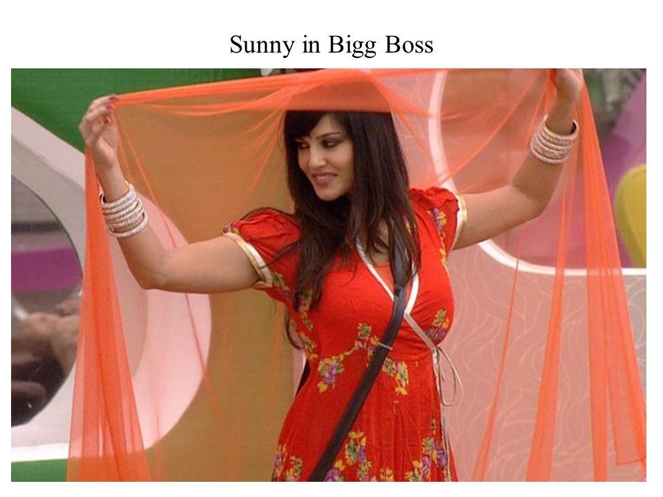 Sunny in Bigg Boss