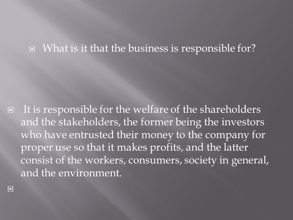 CSR is now as aspect of globalization of business with a human face.