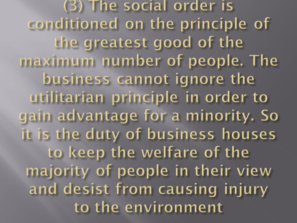 4)With the onset of globalization and the emergence of a networking society, CSR has become a global issue.