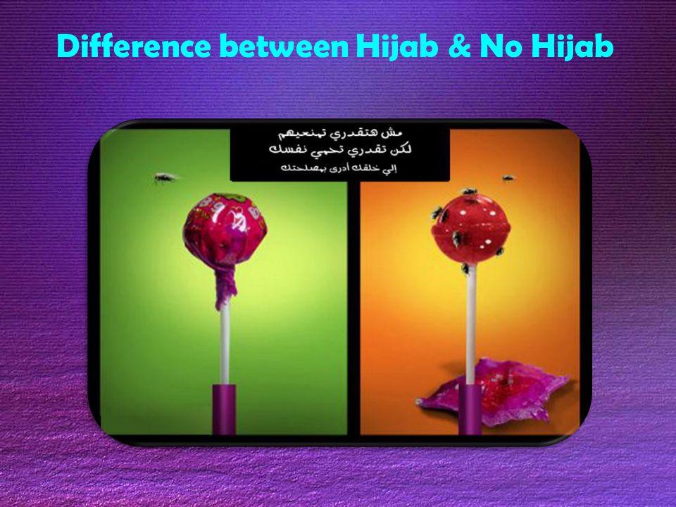 Difference between Hijab & No Hijab