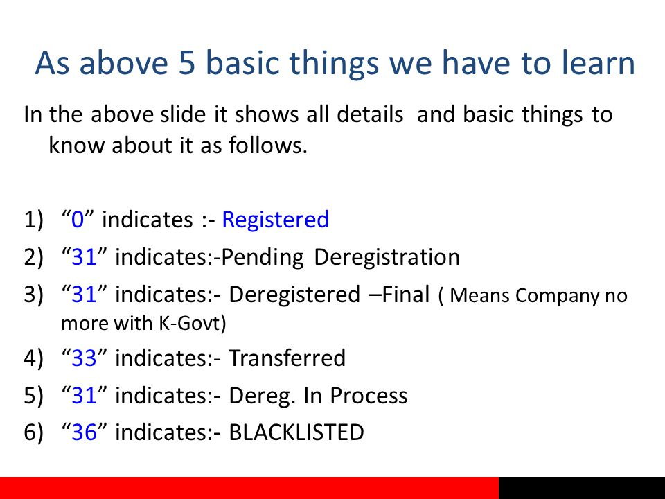 As above 5 basic things we have to learn In the above slide it shows all details and basic things to know about it as follows.