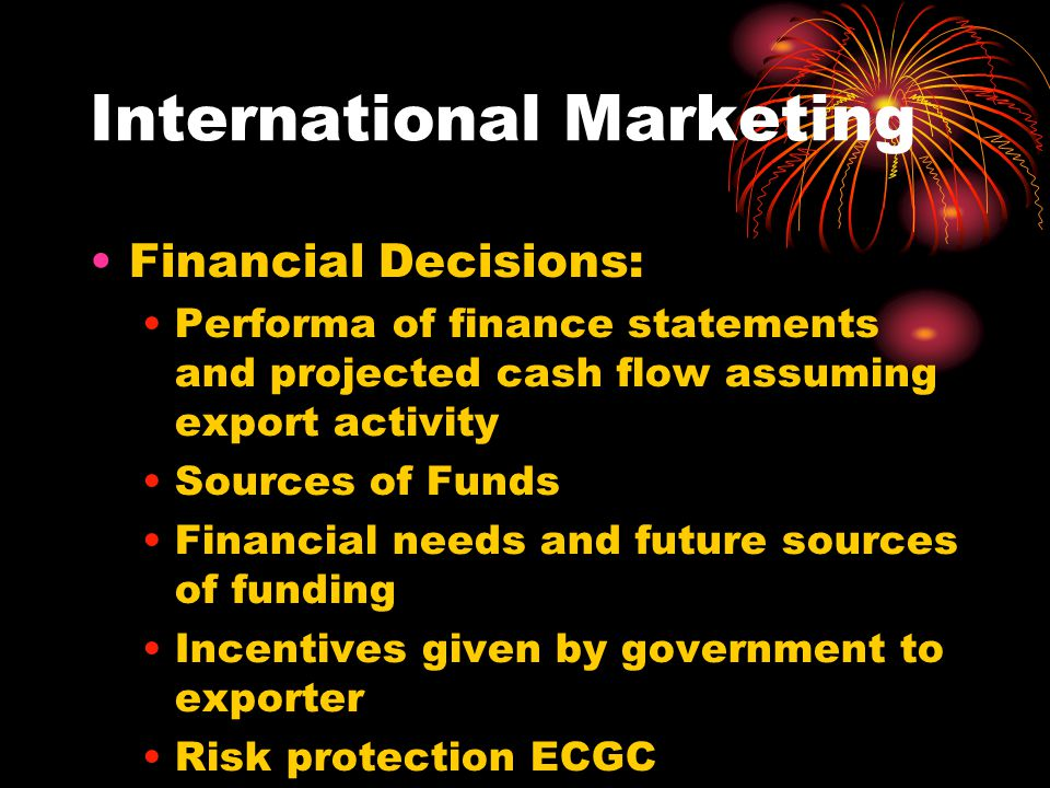 International Marketing Index Introduction Objectives Body of the subjects Importance Research Findings Observations and Suggestions Conclusion Bibliography