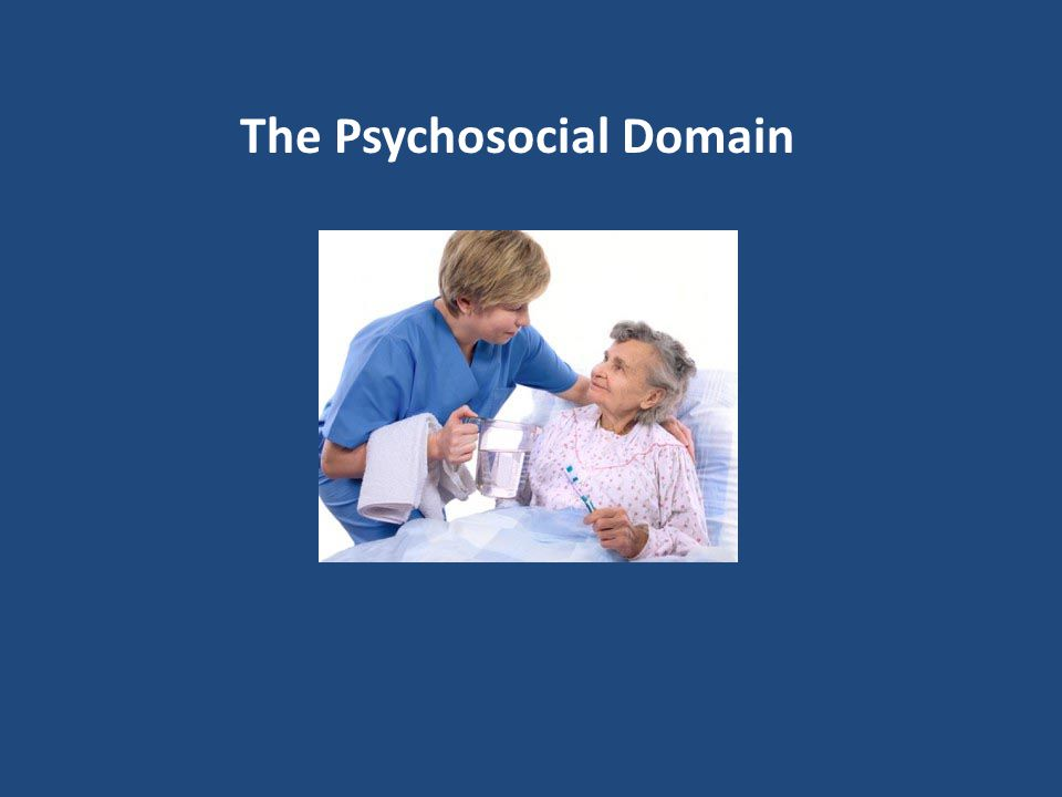 The Psychosocial Domain