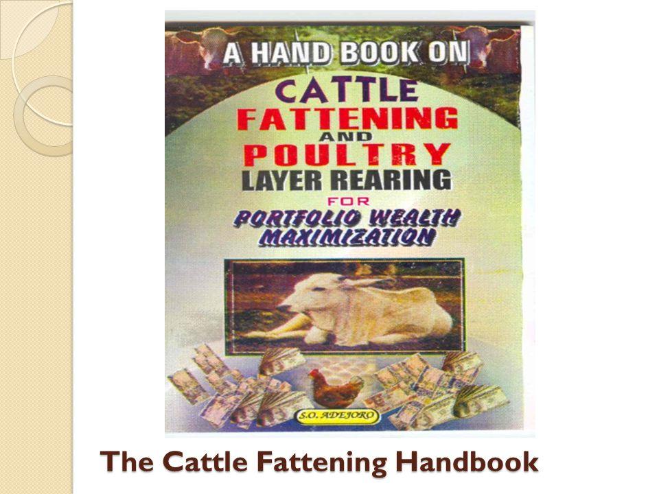 The Cattle Fattening Handbook
