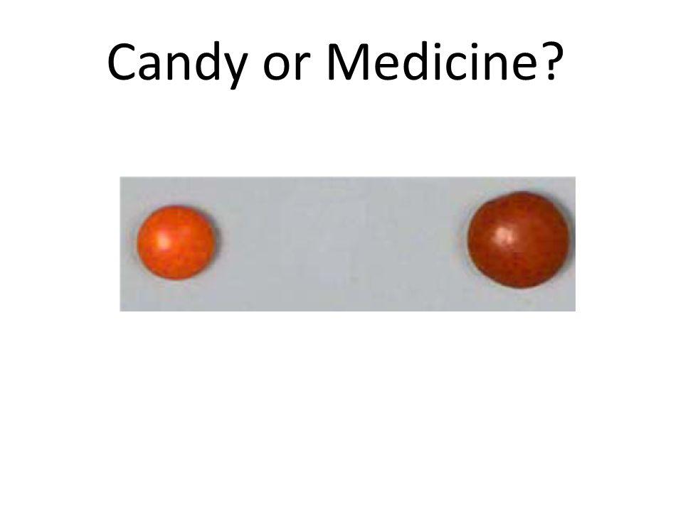 Candy or Medicine