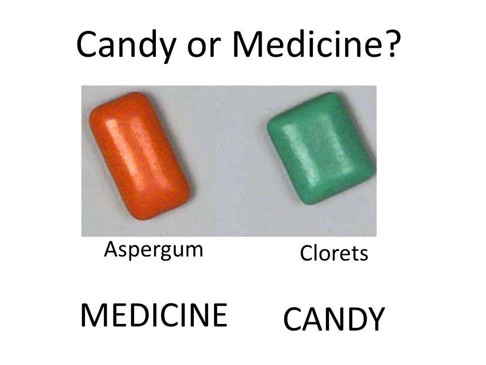 Clorets CANDY Aspergum MEDICINE