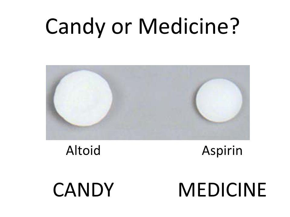 Altoid CANDY Aspirin MEDICINE