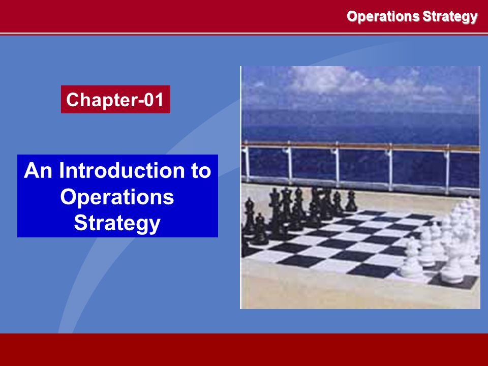 Operations strategy Performance objectives Quality Speed Dependability Flexibility Cost Development and organisation Capacity Supply network Process technolog y Decision areas Market competitiveness The operations strategy matrix Resource usage