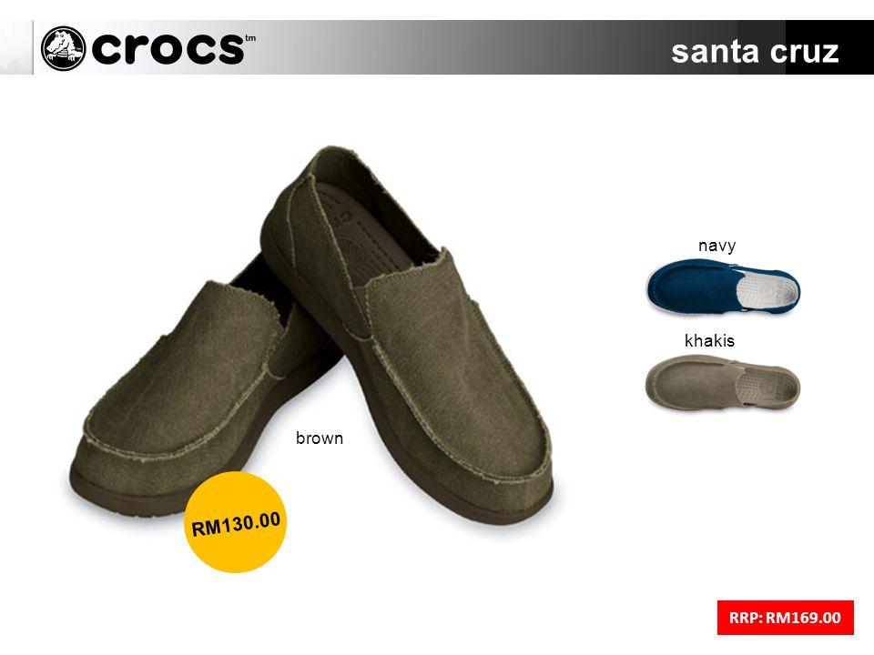 santa cruz RRP: RM169.00 brown RM130.00 navy khakis