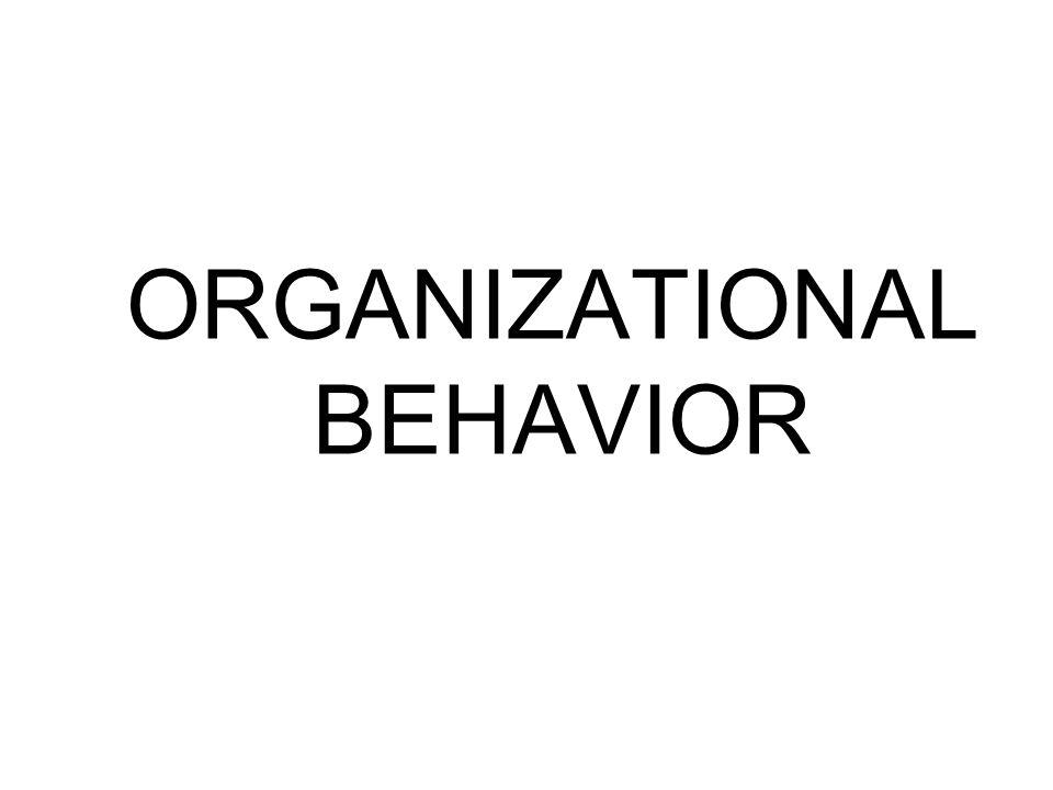 OB Prescribed book Organizational Behavior 9 th Edition Fred Luthans Syllabus Ch 1,2 4-9 12-14 17