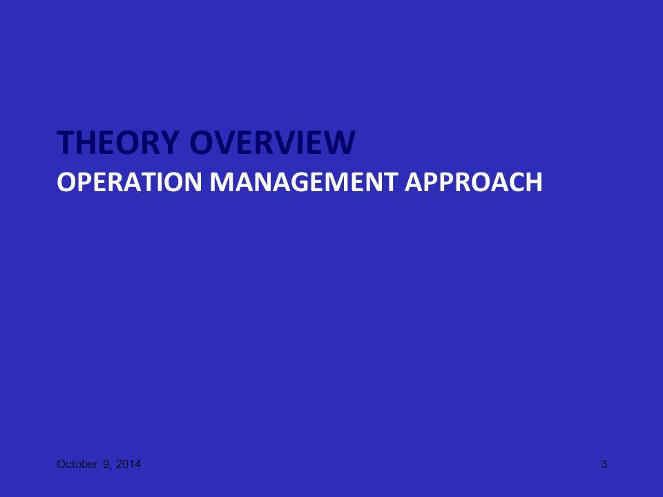Global Operational Environment Global/International environment influence the operational and organizational decision making