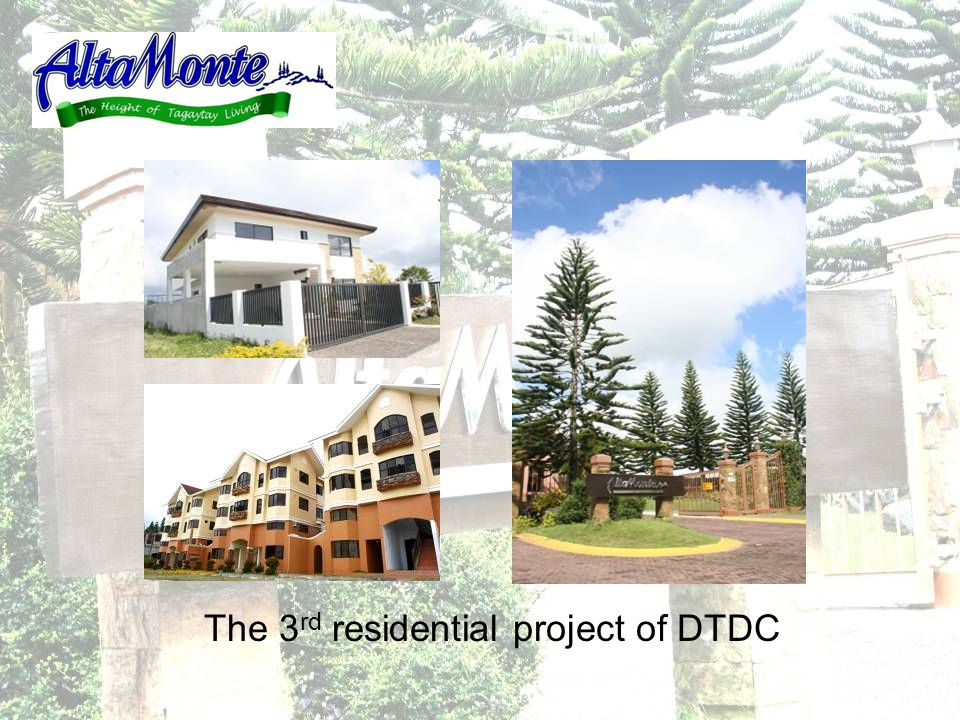 The 3 rd residential project of DTDC