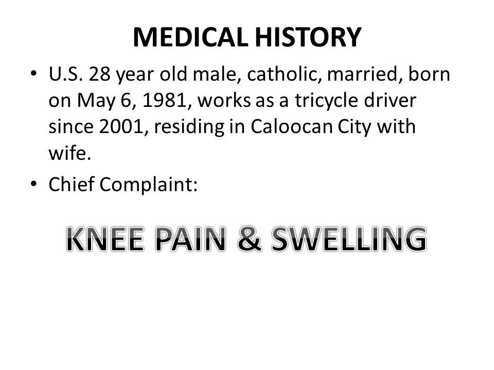 MEDICAL HISTORY U.S.